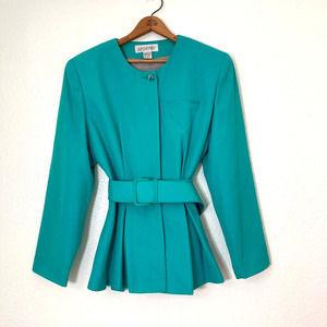 ARGENTI Vintage Turquoise Suit Jacket